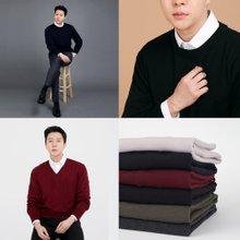 [무료배송]남성 국산 울 브이넥 라운드 크루넥 니트 가디건 조끼 셔츠 자켓 폴라 니트 티셔츠 10종 균일가