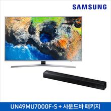 [[삼성]] UHD TV UN49MU7000FXKR+스탠드형 사운드바 HW-J250/KR