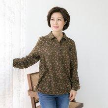 마담4060 엄마옷 플라워반오픈셔츠 QBL902008