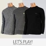 [마운틴가이드]겨울용 등산복/단체복/작업복/남성 기모 반목 폴라 티셔츠 SJM-T7435