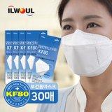 일월 KF80 황사 미세먼지 마스크 30매