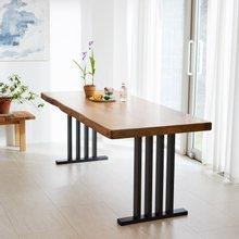 우드인미 통원목 에코 원목식탁 테이블 1600_w700_New/원목책상/우드슬랩/카페테이블