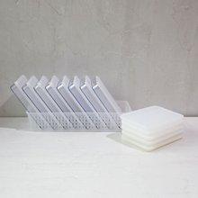 [실리쿡] 냉동실수납용기 스크래치 납작이정리세트 (14종)