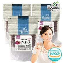 [토종마을]HACCP인증 자색고구마 곤약쌀 500g X 3개(총 1.5kg)