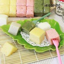 [제주기정떡] 자연발효 건강떡 혼합한판(4가지맛)1.9kg