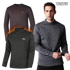겨울 두툼하고 따뜻한 남녀 기모티셔츠 3종 택1