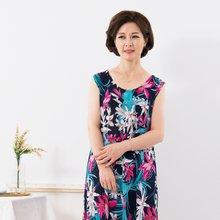 마담4060 엄마옷 가벼운홈웨어원피스 QHW907002