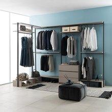 프레임 드레스룸 ㄱ자 2800X1600 3단서랍옷장형