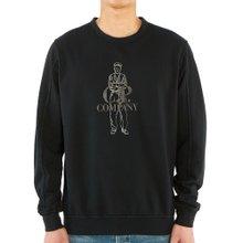 [씨피컴퍼니] 로고 08CMSS169A 002246G 999 남자 긴팔 맨투맨 티셔츠