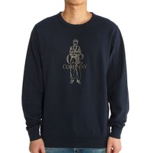 [씨피컴퍼니] 로고 08CMSS169A 002246G 888 남자 긴팔 맨투맨 티셔츠