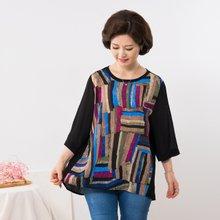 마담4060 엄마옷 멋진인견블라우스 QBL907049