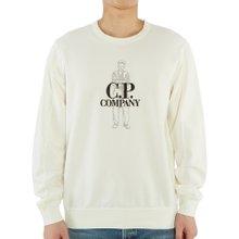 [씨피컴퍼니] 로고 08CMSS169A 002246G 103 남자 긴팔 맨투맨 티셔츠