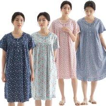 [메이플라워] 국내제작/순면잠옷/레이온잠옷/여름잠옷/여성잠옷/반팔잠옷/원피스잠옷 12종
