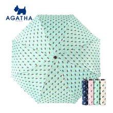 아가타 U풋프린트 수동 3단우산(양산겸용) 백화점우산