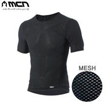 [MCN] K메쉬 냉감이너웨어 반팔 블랙/언더레이어