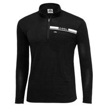 [파파브로]남성 반집업 스판 등산복 긴팔 티셔츠 DW-A9-59M-블랙