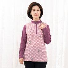마담4060 엄마옷 매듭큐빅티셔츠-ZTE912171-