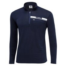 [파파브로]남성 반집업 스판 등산복 긴팔 티셔츠 DW-A9-59M-네이비