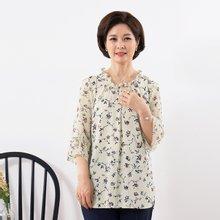 마담4060 엄마옷 은은한꽃블라우스 QBL907045