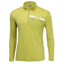 [파파브로]남성 반집업 스판 등산복 긴팔 티셔츠 DW-A9-59M-머스타드