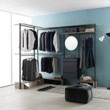 프레임 드레스룸 ㄱ자 2400X1600 화장대형