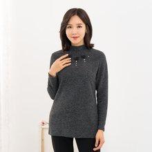 마담4060 엄마옷 밍크방울기모티셔츠-ZMTE911001-