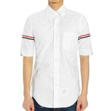 [톰브라운] 옥스포드 클래식 암밴드 MWS242A 00139 100 남자 반팔 셔츠