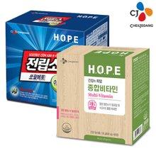 [CJ]전립소 쏘팔메토(2개월) + HOPE 비타민M(2개월)