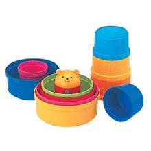 콤비 컵온컵스 곰돌이 컵쌓기 - 유아장난감, 아기장난감 / 성취감, 집중력 향상