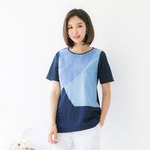 마담4060 엄마옷 맑은하늘티셔츠 QTE905011