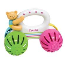 콤비 곰돌이 자동차 딸랑이 - 유아장난감, 아기장난감 / 환경호르몬 無