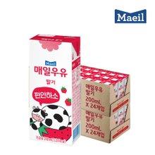 [매일우유] 매일 멸균 딸기맛우유 200mlX48팩