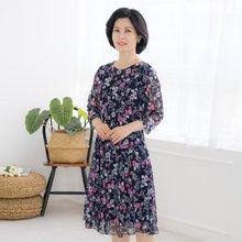 마담4060 엄마옷 입체플라워원피스-ZOP004021-