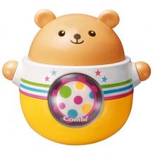 콤비 둥글둥글 곰돌이 오뚝이 - 유아장난감, 아기장난감