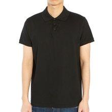 [생로랑] 모노그램 554052 YB2OC 1000 남자 폴로 반팔 티셔츠