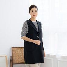 마담4060 엄마옷 심플단추롱베스트-ZVE004012-
