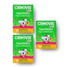 [세노비스] 키즈 수퍼바이오틱스 어린이 유산균 (30포, 30일분) 3통