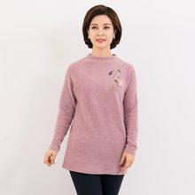 마담4060 엄마옷 가슴에플라워티셔츠-ZTE912080-