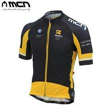 [MCN] 이녹스 옐로우 반팔져지/자전거상의/자전거의류