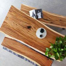 해찬솔 꼬우꼬통원목 6인용식탁세트 1800E-ap/카페테이블/보르네오월넛 우드슬랩