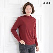 엄마옷 모슬린 소프트 기모 데일리 티셔츠 TP910391