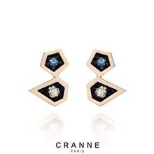 [끄란느] 천연다이아몬드 14K귀걸이 C12EG014