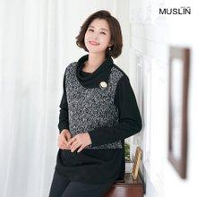 엄마옷 모슬린 터틀 진주 티셔츠 TP910380