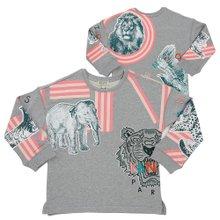 [겐조키즈] 크레이지 정글 KP15018 25 8A12A 키즈 긴팔 맨투맨 티셔츠 (성인착용가능)