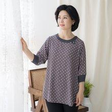 마담4060 엄마옷 플리츠포인트블라우스-ZBL004063-