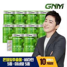 [GNM자연의품격]징코빌로바 11 1개월분 10박스 (총 10개월분)