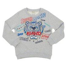 [겐조키즈] 타이거 KP15658 25 8A12A 키즈 긴팔 맨투맨 티셔츠 (성인착용가능)
