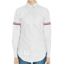 [톰브라운] 옥스포드 암밴드 유니버시티 스트라이프 FLL019E 00098 035 여자 셔츠