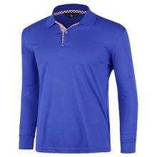 [파파브로]남성 국산 긴팔 체크 카라 티셔츠 LM-A9-L99-PK-블루