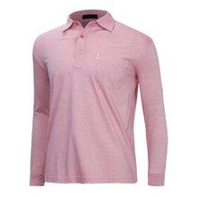 [파파브로]남성 국산 기본 긴팔 카라 면 티셔츠 LM-A9-222-레드